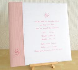 ベビーアルバム Livre du bebe Pink (リブロ・ド・ベベ ピンク)
