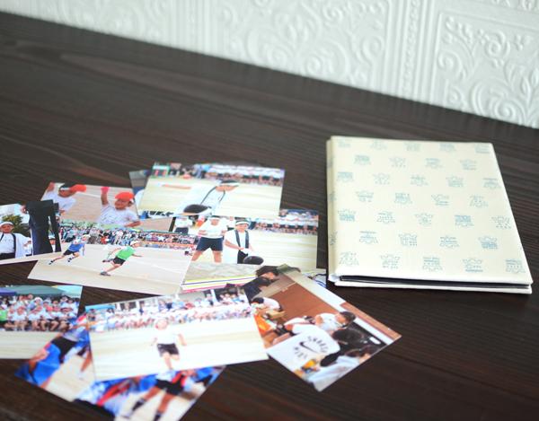アコーディオンアルバムと写真